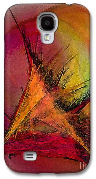 Moonstruck-abstract Art Galaxy S4 Case
