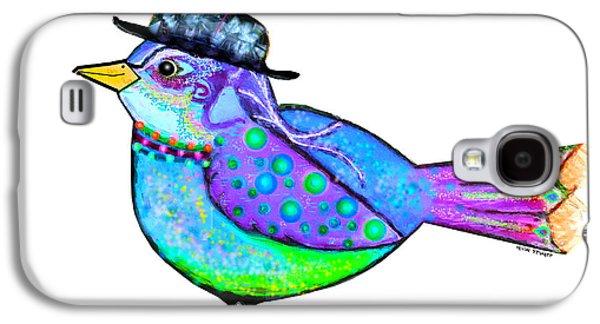 Moonworld Series - Birdy Bard Galaxy S4 Case by Moon Stumpp