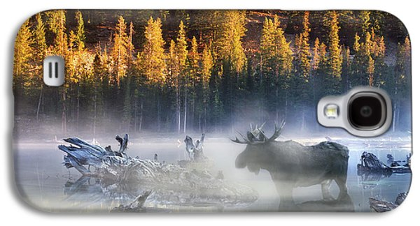 Moose Lake Galaxy S4 Case by Leland D Howard