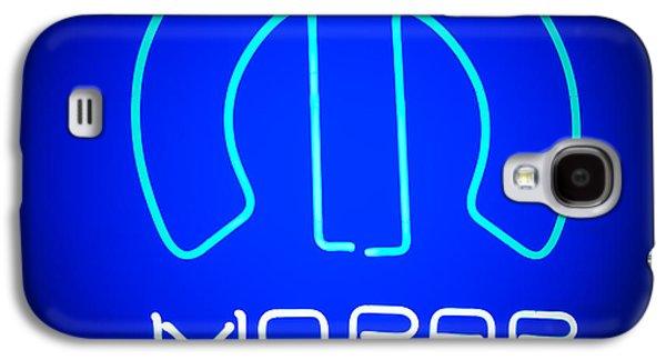 Mopar Neon Sign Galaxy S4 Case by Jill Reger