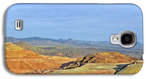 Morenci - A Beauty Of A Copper Mine Galaxy S4 Case by Christine Till
