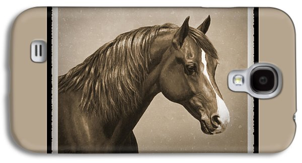 Morgan Horse Old Photo Fx Galaxy S4 Case