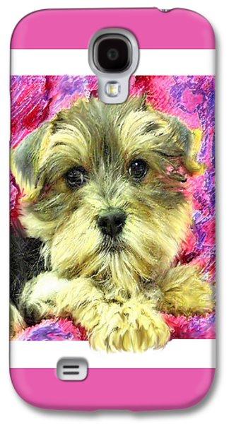 Morkie Puppy Galaxy S4 Case