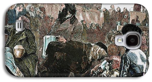 Mormon Church Service In The Tabernacle Galaxy S4 Case by Prisma Archivo