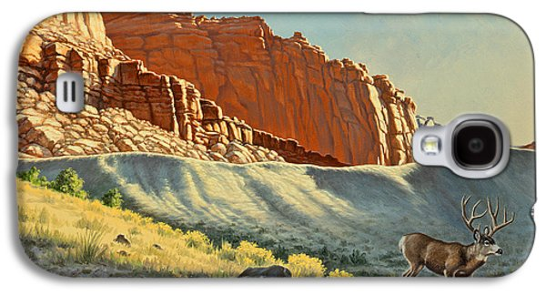 Morning At Capitol Reef Galaxy S4 Case by Paul Krapf