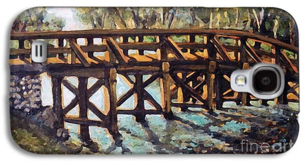 Morning At The Old North Bridge Galaxy S4 Case by Rita Brown