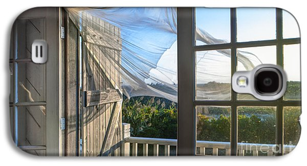 Morning Breeze At The Beach House Galaxy S4 Case by Diane Diederich