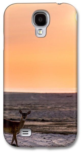 Morning Deer Galaxy S4 Case by Ryan Moore
