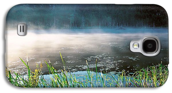 Morning Fog Acadia National Park Me Usa Galaxy S4 Case by Panoramic Images