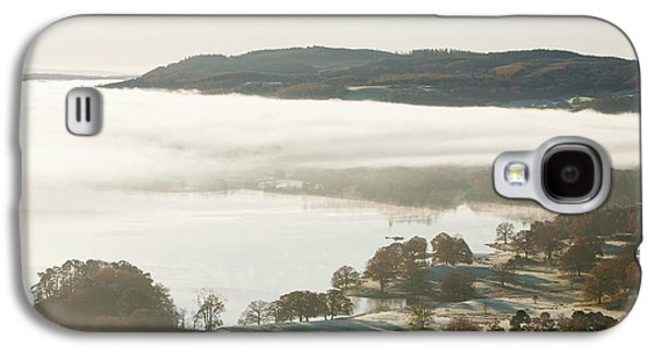 Morning Mist Over Lake Windermere Galaxy S4 Case