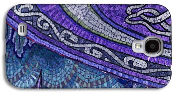 Mosaic Abstract Galaxy S4 Case by Tony Rubino