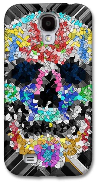 Mosaic Skull Galaxy S4 Case by Mauro Celotti