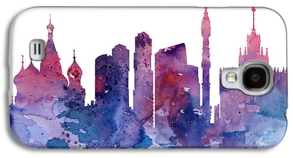 Moscow Galaxy S4 Case - Moscow by Watercolor Girl