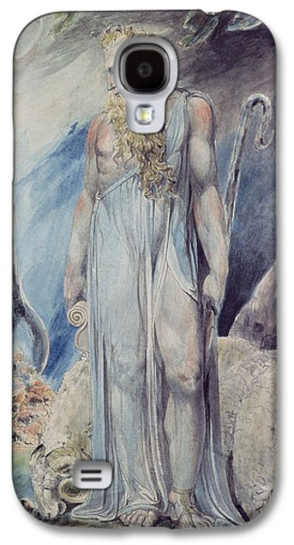 Moses And The Burning Bush Galaxy S4 Case by William Blake