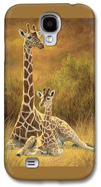 Mother And Son Galaxy S4 Case by Lucie Bilodeau