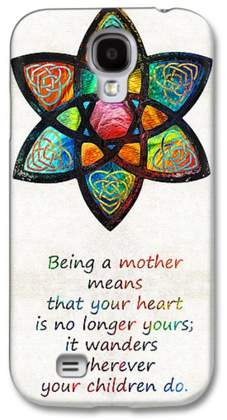 Mother Mom Art - Wandering Heart - By Sharon Cummings Galaxy S4 Case by Sharon Cummings