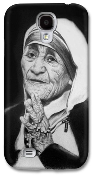 Mother Teresa Galaxy S4 Case by Anthony Falbo