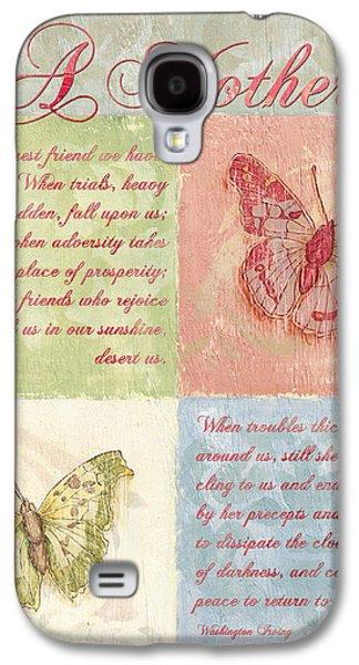 Mother's Day Butterfly Card Galaxy S4 Case by Debbie DeWitt
