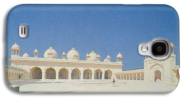 Moti Masjid, Agra Galaxy S4 Case by Vasili Vasilievich Vereshchagin