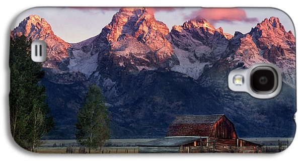 Moulton Barn Galaxy S4 Case by Leland D Howard