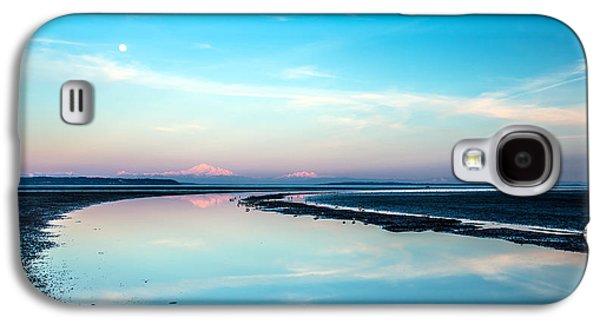 Mount Baker Landscape Reflection Galaxy S4 Case by Pierre Leclerc Photography