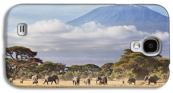 Mount Kilimanjaro Amboseli  Galaxy S4 Case