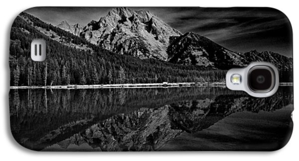 Mount Moran In Black And White Galaxy S4 Case