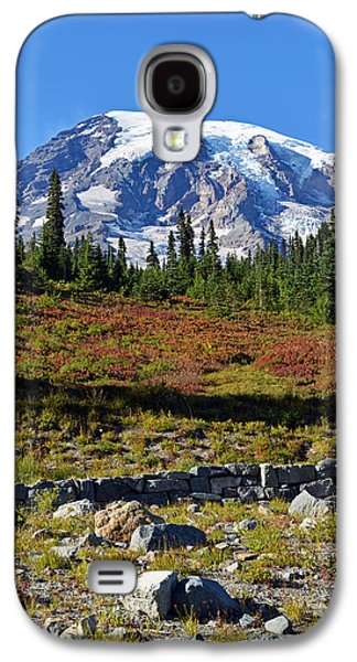 Galaxy S4 Case featuring the photograph Mount Rainier by Anthony Baatz
