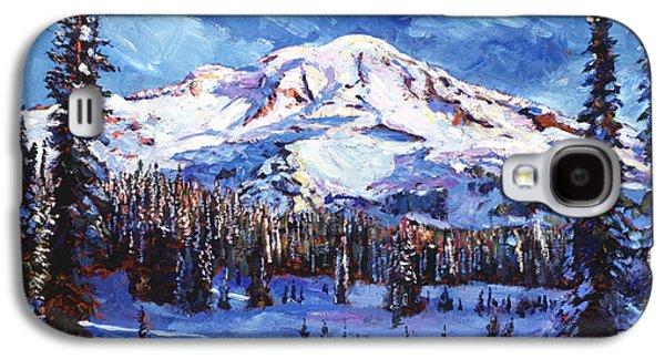 Mount Rainier Impressions Galaxy S4 Case by David Lloyd Glover