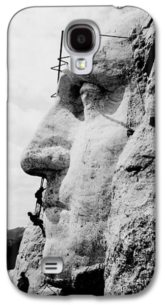 Mount Rushmore Construction Photo Galaxy S4 Case