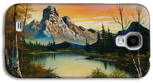 Sunset Lake Galaxy S4 Case