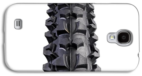 Mountain Bike Tyre Galaxy S4 Case by Science Photo Library