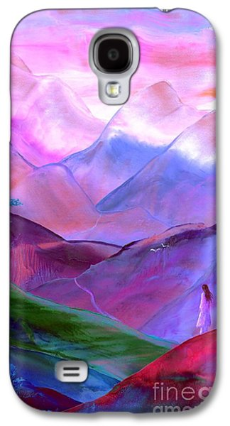 Mountain Reverence Galaxy S4 Case by Jane Small