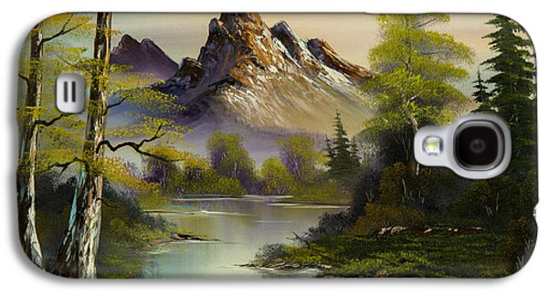 Mountain Evening Galaxy S4 Case