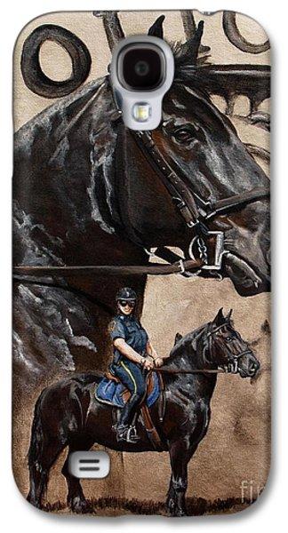Mounted Patrol Galaxy S4 Case