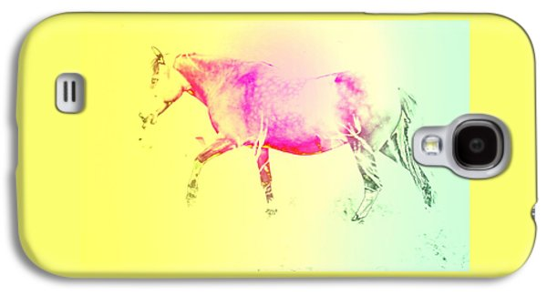 The Moving Spirit Within A Horse  Galaxy S4 Case by Hilde Widerberg