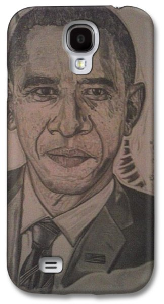 Mr. President Galaxy S4 Case by Demetrius Washington