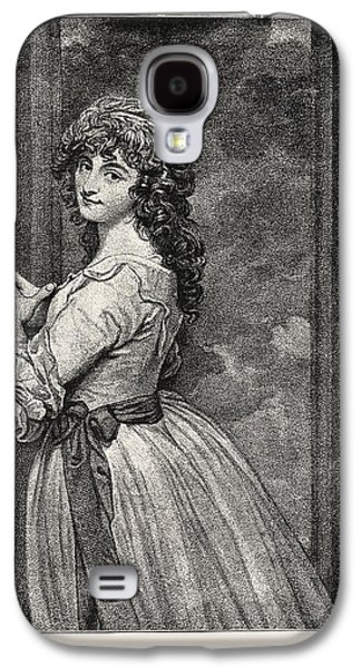 Mrs. Dorothy Jordan As Peggy In The Country Girl Galaxy S4 Case