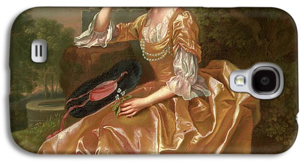 Mrs. Mary Chauncey A Young Woman Signed And Dated In Yellow Galaxy S4 Case