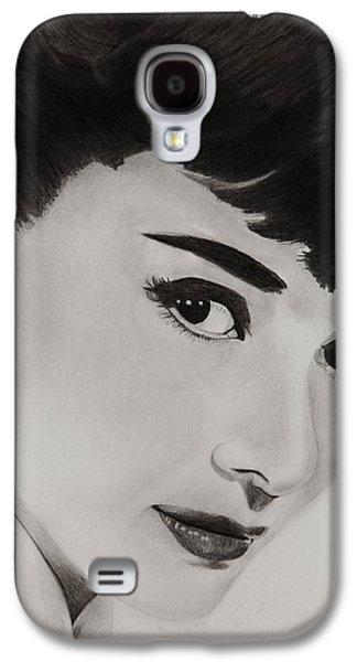 Ms Hepburn Galaxy S4 Case