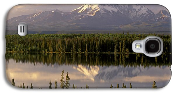 Mt Drum Over Willow Lake Wrangell-st Galaxy S4 Case