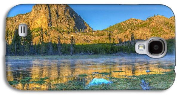 Mt. Hayes Alpine Glow Yellowstone National Park Galaxy S4 Case