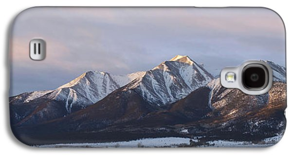 Mt. Princeton Panorama Galaxy S4 Case by Aaron Spong
