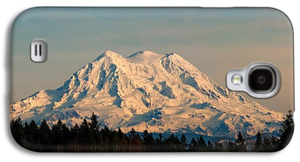 Mt Rainier Winter Panorama Galaxy S4 Case