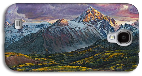 Mt. Sneffels Galaxy S4 Case by Aaron Spong