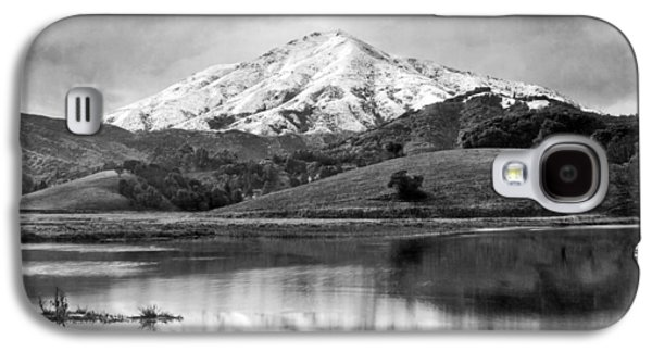 Mt. Tamalpais In Snow Galaxy S4 Case by Underwood Archives