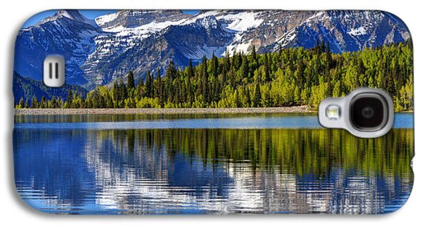 Mt. Timpanogos Reflected In Silver Flat Reservoir - Utah Galaxy S4 Case