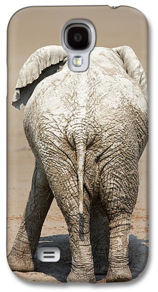 Muddy Elephant With Funny Stance  Galaxy S4 Case