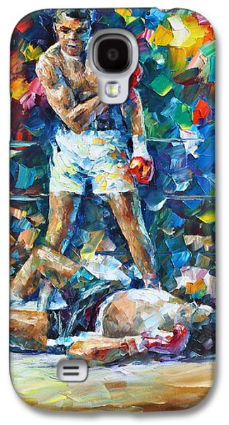 Muhammad Ali Galaxy S4 Case by Leonid Afremov