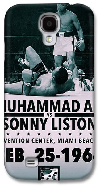 Muhammad Ali Poster Galaxy S4 Case by Dan Sproul